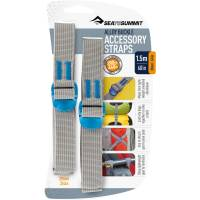 Sea to Summit Tie Down Strap - 2 Stk. 20 mm x 1,5 m blau