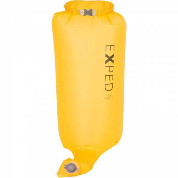 EXPED Schnozzel Pumpbag UL - Pump-Pack-Sack corn yellow - Bild 1