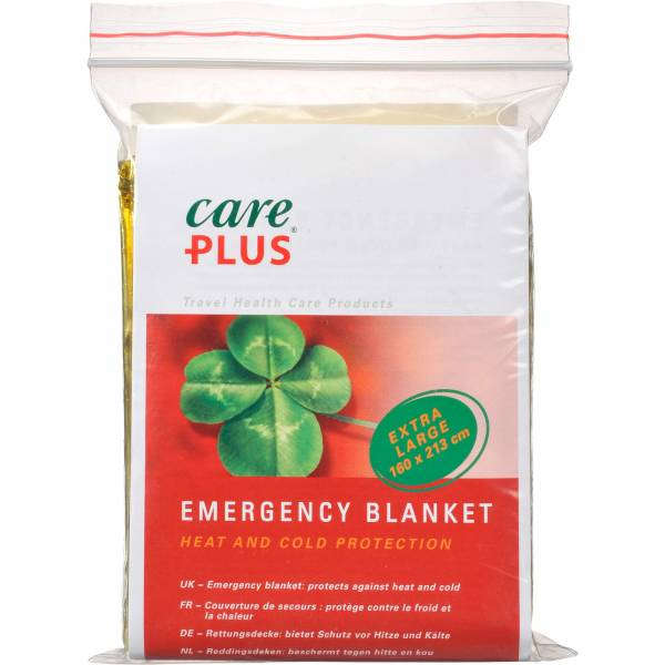 Care Plus Emergency Blanket - Rettungsdecke - Bild 1