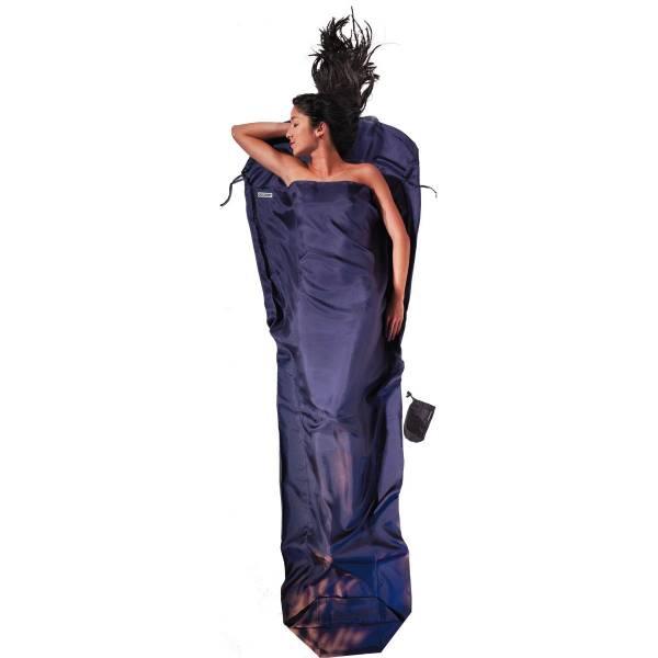 COCOON Silk RipStop MummyLiner - Seiden-Schlafsack tuareg - Bild 1