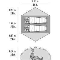 Vorschau: MSR Carbon Reflex™ 2 - 2 Personen Zelt - Bild 4