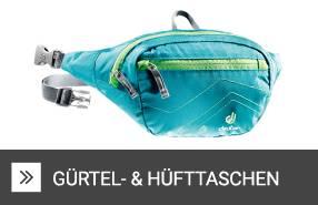 Gürtel- & Hüfttaschen zum Wandern