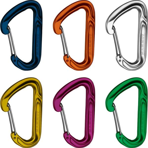 Mammut Wall Light 6er Pack - Wire Gate Karabiner - Bild 1