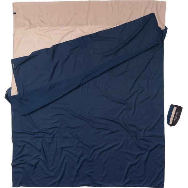 COCOON Egyptian Cotton TravelSheet Double Size khaki-tuareg - Bild 1