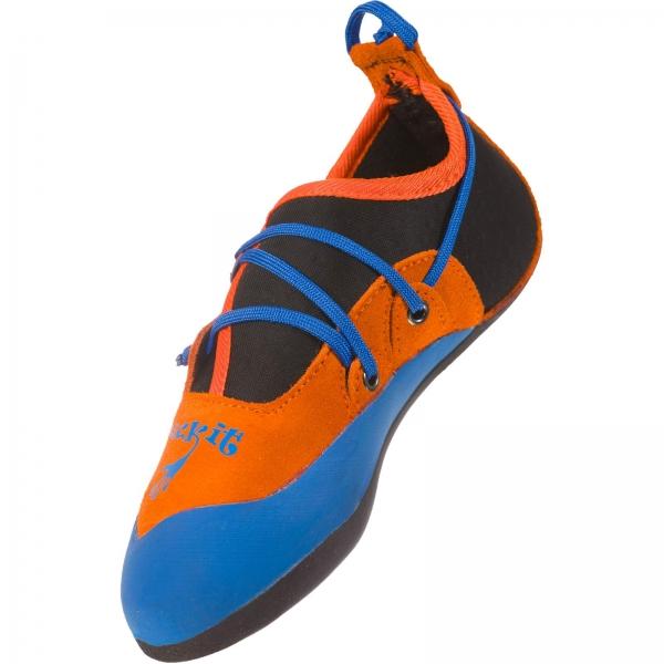 La Sportiva Stickit - Kinder-Kletterschuh lily orange-marine blue - Bild 4
