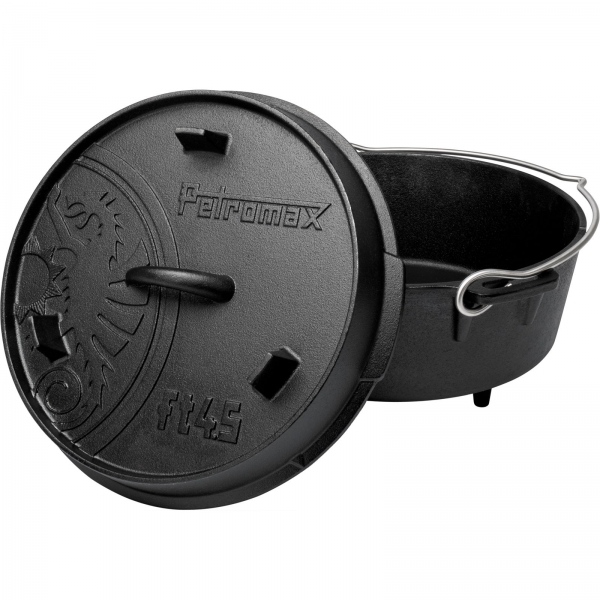 Petromax Feuertopf ft 4.5 mit Füßen - Dutch Oven - Bild 1