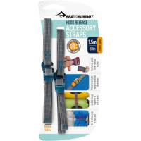 Sea to Summit Tie Down Hook Strap - 2 Stk. 10 mm x 1,5 m blau