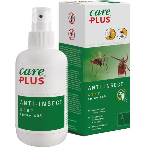 Care Plus Anti-Insect Deet Spray 40% - 200 ml - Bild 1