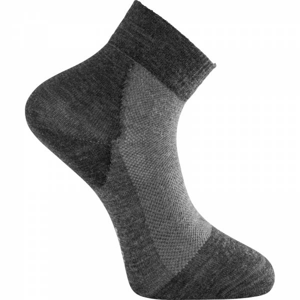 Woolpower Socks Skilled Liner Short - kurze Socken dark grey-grey - Bild 1