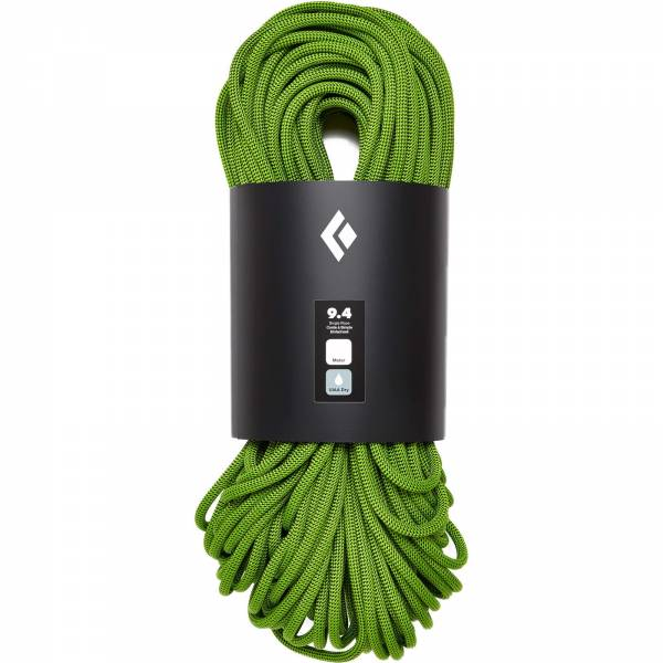 Black Diamond 9.4 Rope Dry - Kletterseil envy green - Bild 1
