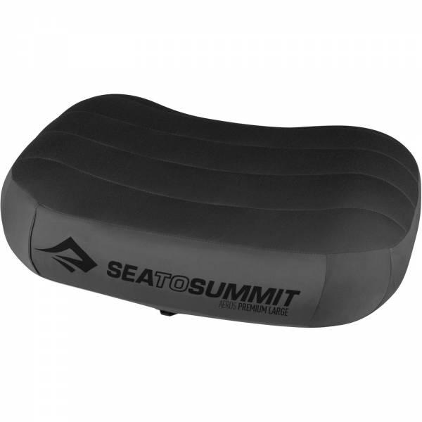 Sea to Summit Aeros Pillow Premium Large - Kopfkissen grey - Bild 2