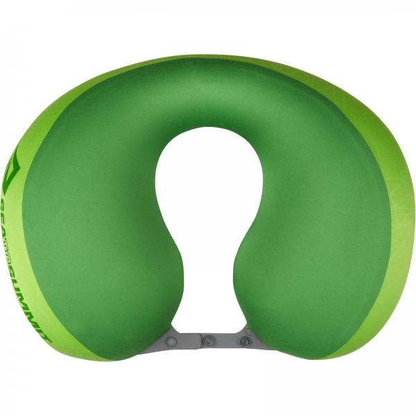 Sea to Summit Aeros Pillow Premium Traveller - Nackenkissen lime - Bild 3