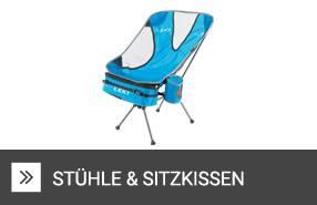 Kissen & Stühle zum Wandern