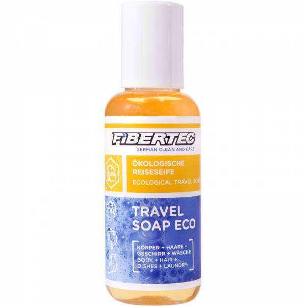 FIBERTEC Travel Soap Eco 100 ml  - alles und überall Outdoor-Seife - Bild 1