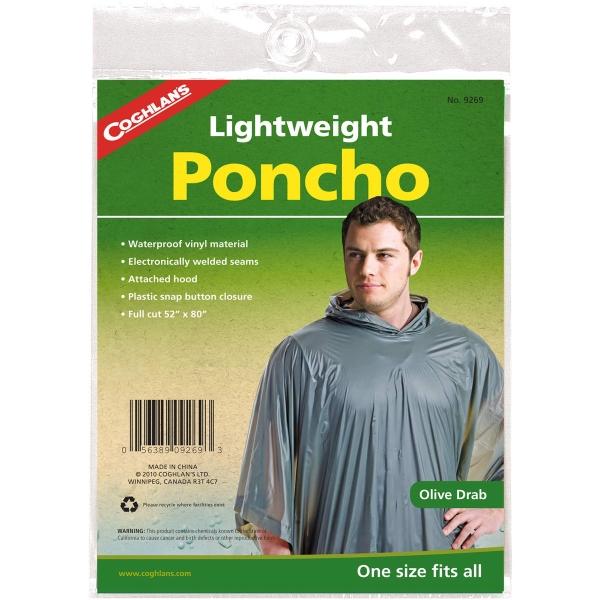 Coghlans Leichtponcho - Regenponcho olive - Bild 3