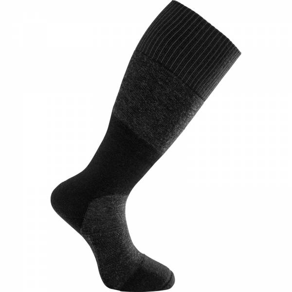 Woolpower Socks Skilled Knee-High 400 - Kniestrümpfe black-dark grey - Bild 1