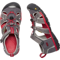 Vorschau: KEEN Youth Seacamp II CNX - Jugendsandalen magnet-racing red - Bild 1