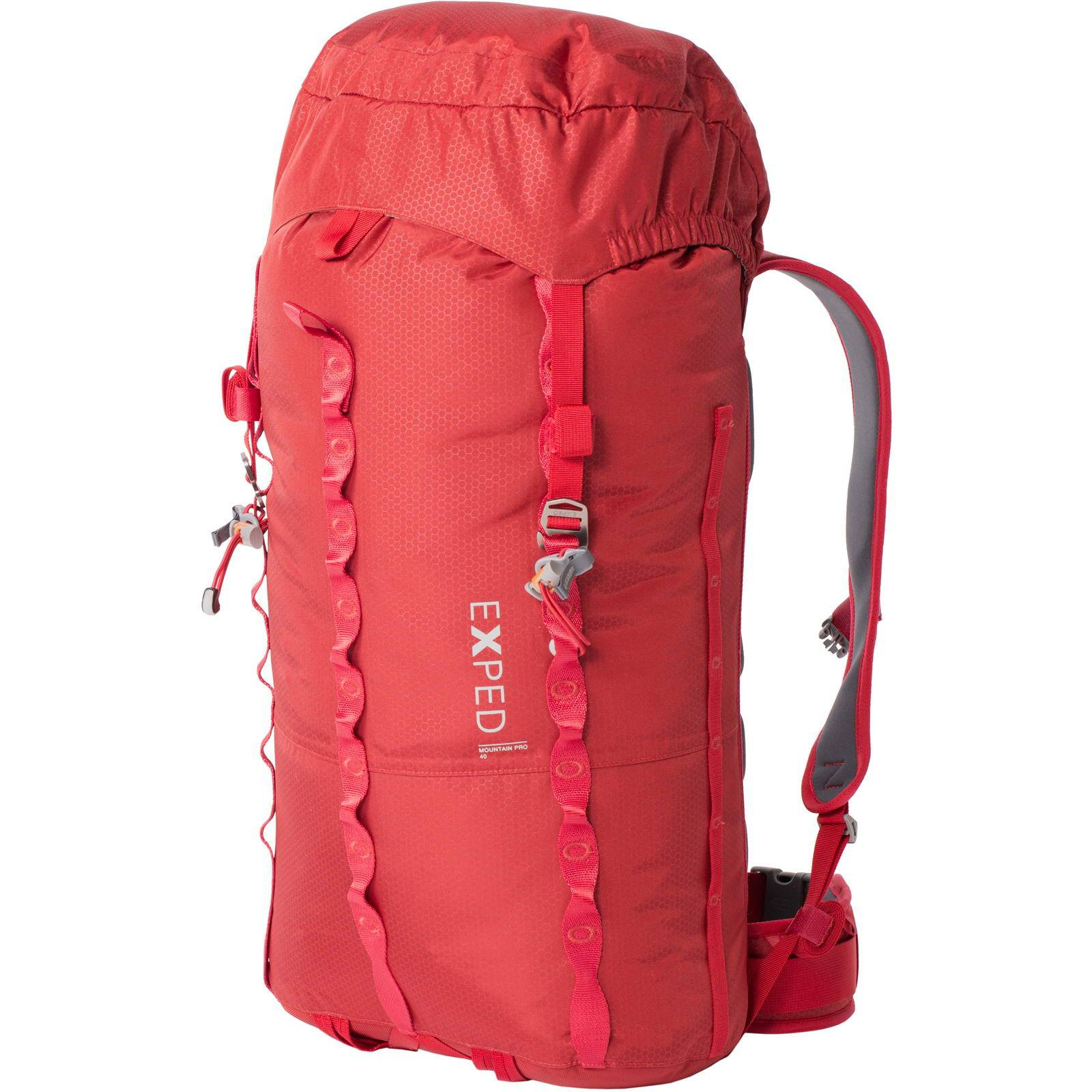 EXPED Mountain Pro 40 - Rucksack ruby red M