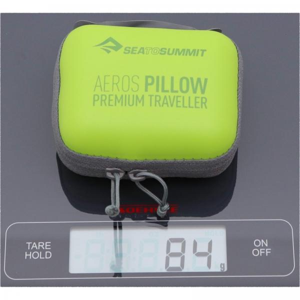 Sea to Summit Aeros Pillow Premium Traveller - Nackenkissen lime - Bild 2