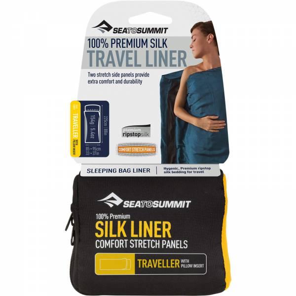 Sea to Summit Silk Stretch Liner Traveller - Inlet - Bild 1