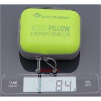 Vorschau: Sea to Summit Aeros Pillow Premium Traveller - Nackenkissen lime - Bild 2