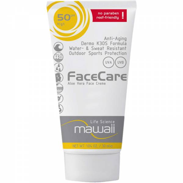 mawaii FaceCare SPF 50 - 30 ml - Bild 1