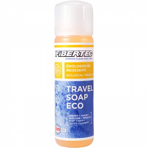 FIBERTEC Travel Soap Eco 250 ml  - alles und überall Outdoor-Seife - Bild 1