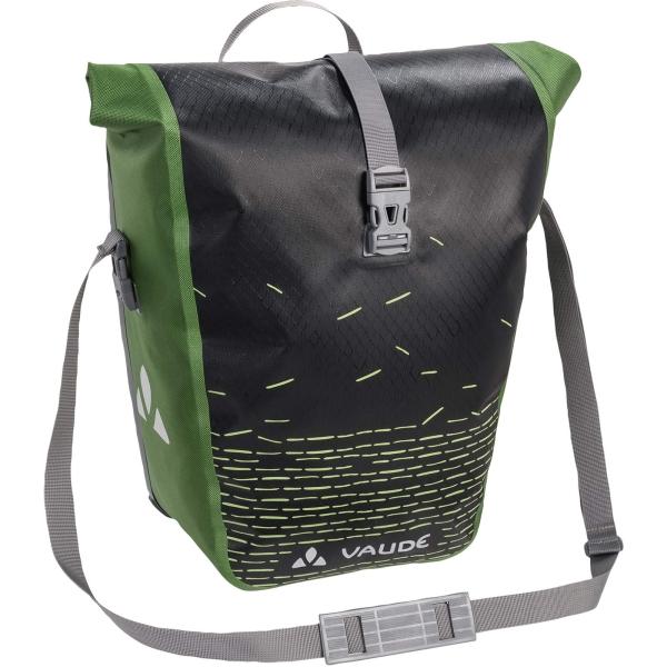 VAUDE Aqua Back Print Single - Hinterrad-Tasche black-green - Bild 1