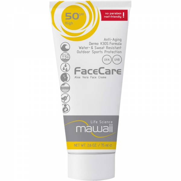 mawaii FaceCare SPF 50 - 75 ml - Bild 1