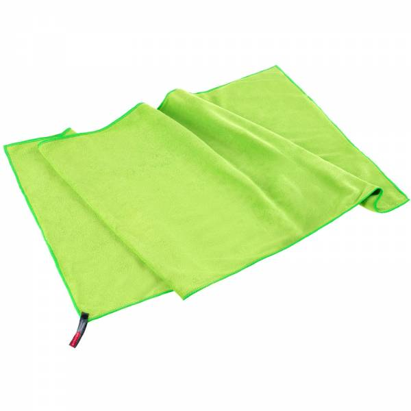 LACD Soft Towel M - Outdoorhandtuch lime - Bild 3