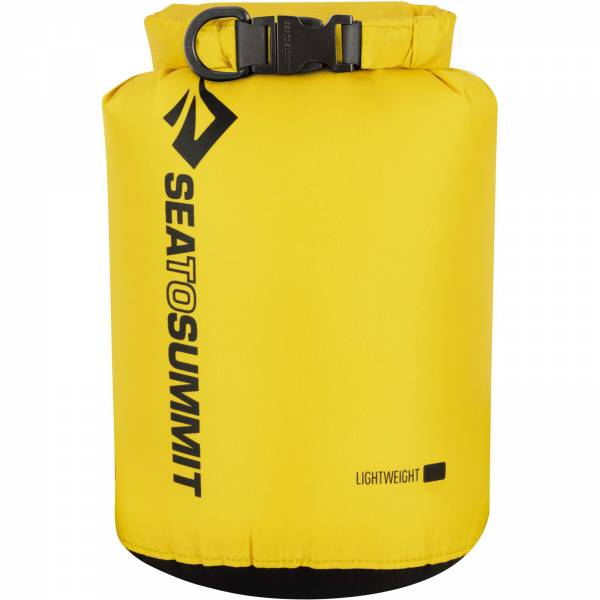 Sea to Summit Lightweight Dry Sack - wasserdichter Packsack yellow - Bild 5