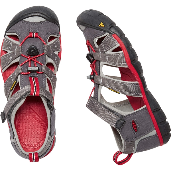 KEEN Youth Seacamp II CNX - Jugendsandalen magnet-racing red - Bild 1