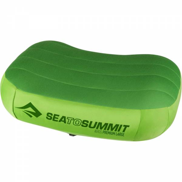 Sea to Summit Aeros Pillow Premium Large - Kopfkissen lime - Bild 7