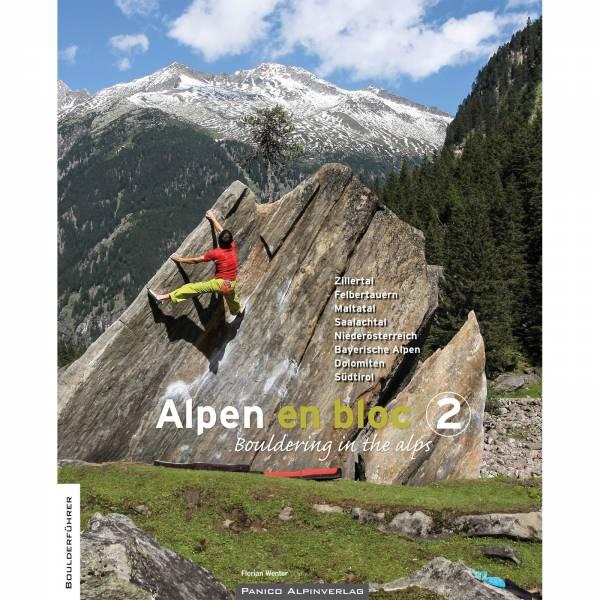 Panico Verlag Alpen en bloc - Band 2 - Boulderführer - Bild 1