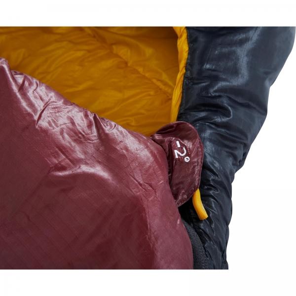 Nordisk Oscar -2° Curve - 3-Jahreszeiten-Schlafsack rio red-mustard yellow-black - Bild 9