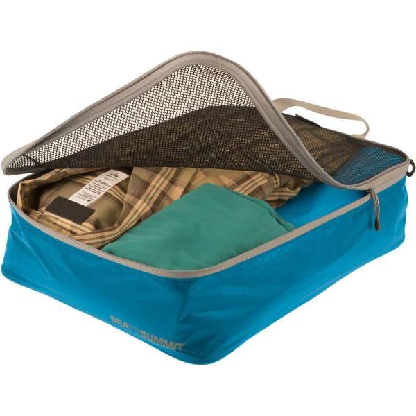 Sea to Summit TravellingLight Garment Mesh Bags Größe M blue-grey - Bild 1