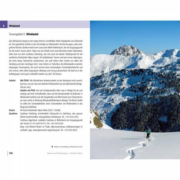 Panico Verlag Kitzbühler Alpen - Skitourenführer - Bild 4