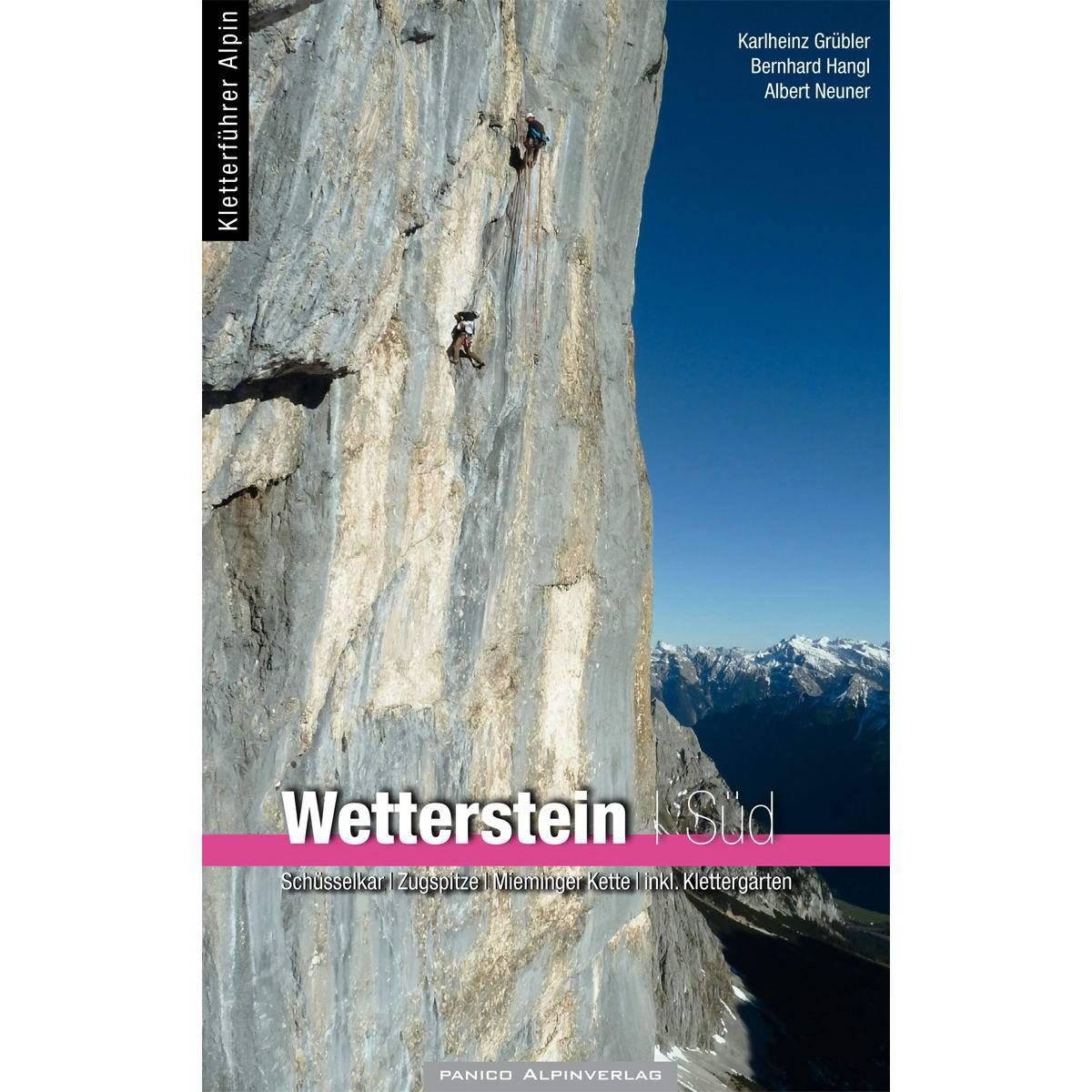 Panico Verlag Wetterstein SĂĽd - KletterfĂĽhrer