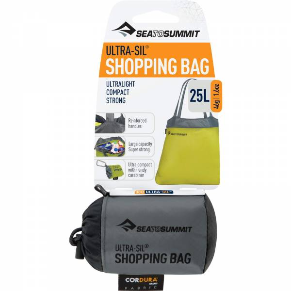 Sea to Summit Ultra-Sil Shopping Bag - Einkaufstasche black - Bild 6
