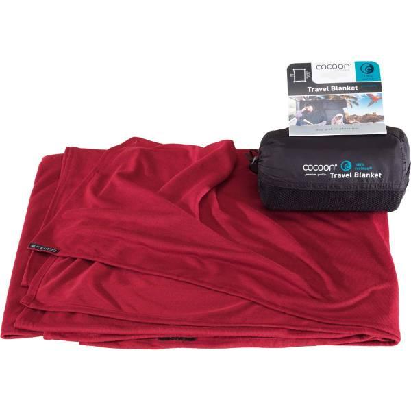 COCOON CoolMax Travel Blanket - Decke monks red - Bild 3