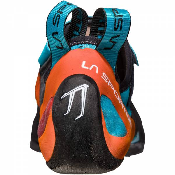 La Sportiva Katana - Kletterschuhe tangerine-tropic blue - Bild 4