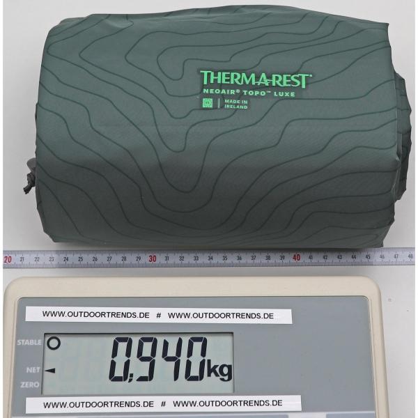 Therm-a-Rest NeoAir Topo Luxe - Schlafmatte balsam - Bild 5