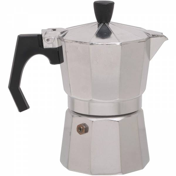 Basic Nature Bellanapoli - 3 Tassen Espresso Maker alu natur - Bild 1