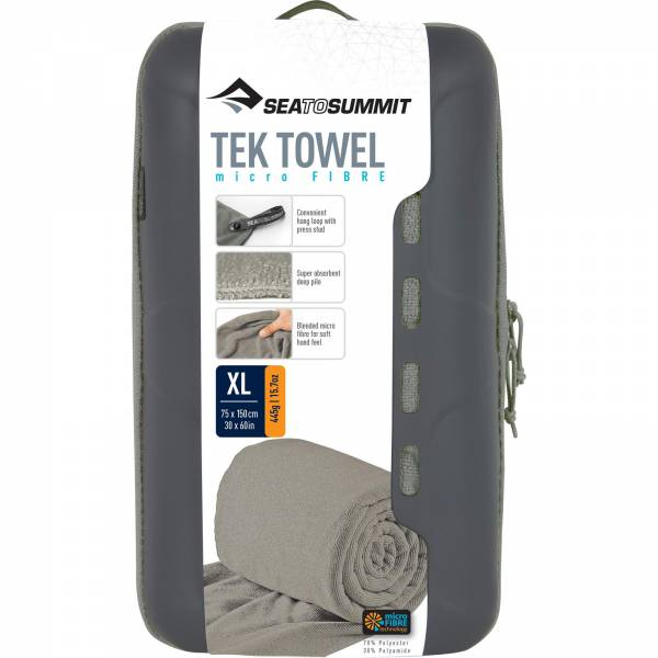 Sea to Summit Tek Towel XL - Campinghandtuch grey - Bild 7