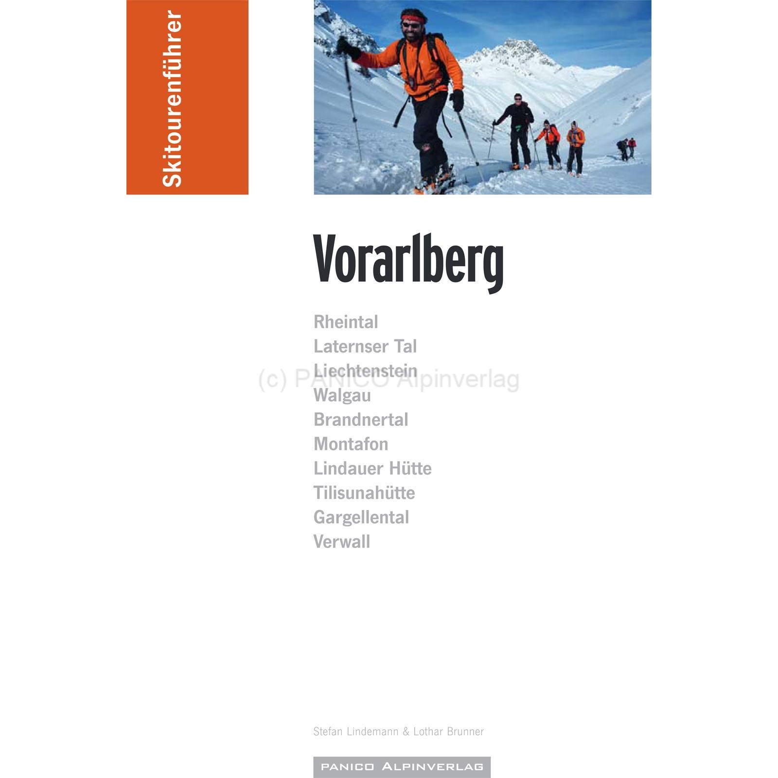 Panico Verlag Vorarlberg - SkitourenfĂĽhrer