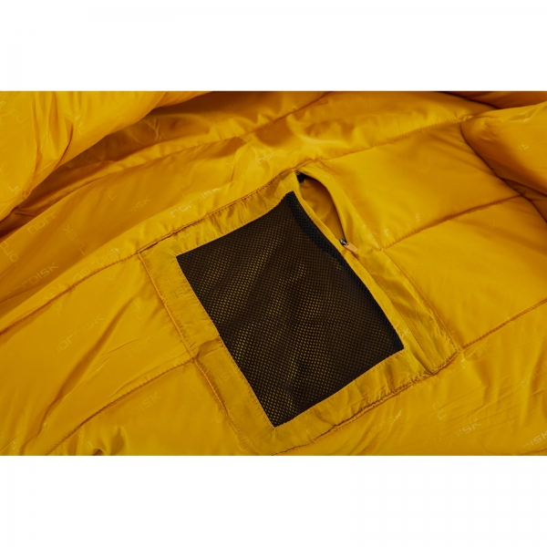 Nordisk Gormsson -20° Mummy - Winterschlafsack artichoke green-mustard yellow-black - Bild 16