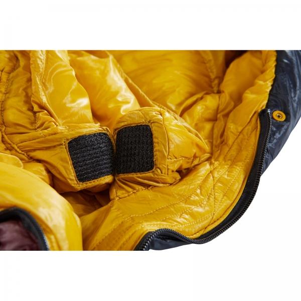 Nordisk Oscar -2° Curve - 3-Jahreszeiten-Schlafsack rio red-mustard yellow-black - Bild 6