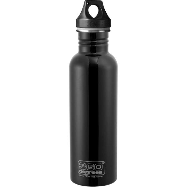 360 degrees Stainless Drink Bottle - 750 ml - Trinkflasche black - Bild 3