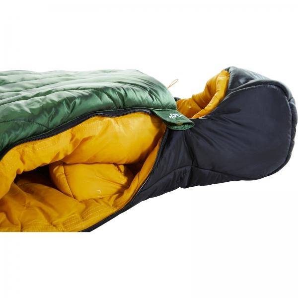 Nordisk Gormsson -20° Mummy - Winterschlafsack artichoke green-mustard yellow-black - Bild 11