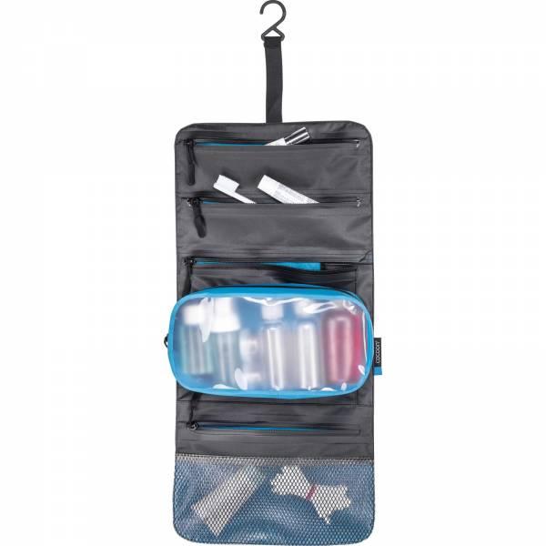 COCOON Hanging Toiletry Kit Minimalist - Kulturbeutel grey-black-blue - Bild 2